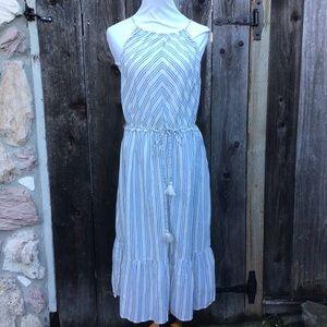 Ann Taylor Loft Beach Striped Cover Up Dress NWT